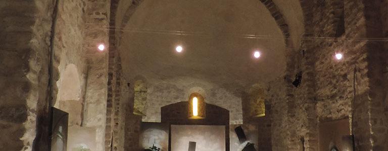 Paysages hybrides à la chapelle Riquer